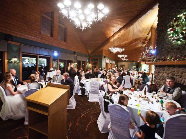 Mike and Chantal's wedding in Jasper, Alberta 6