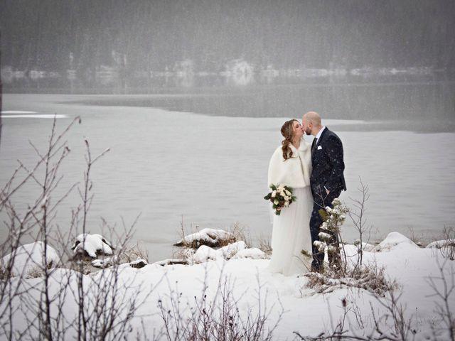 Mike and Chantal's wedding in Jasper, Alberta 7