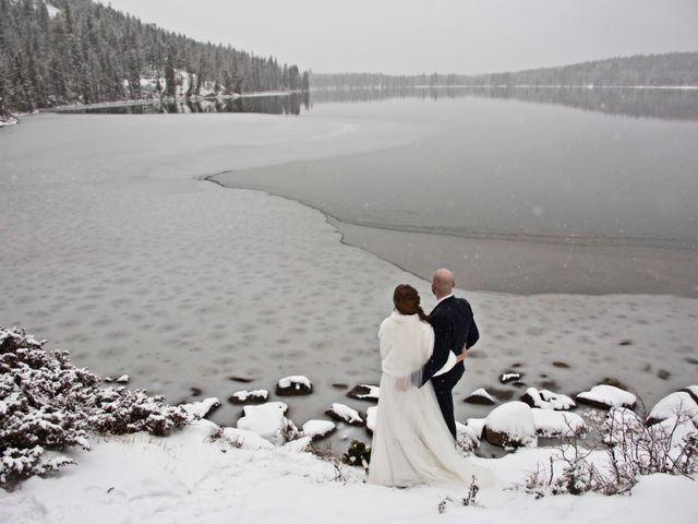 Mike and Chantal's wedding in Jasper, Alberta 8