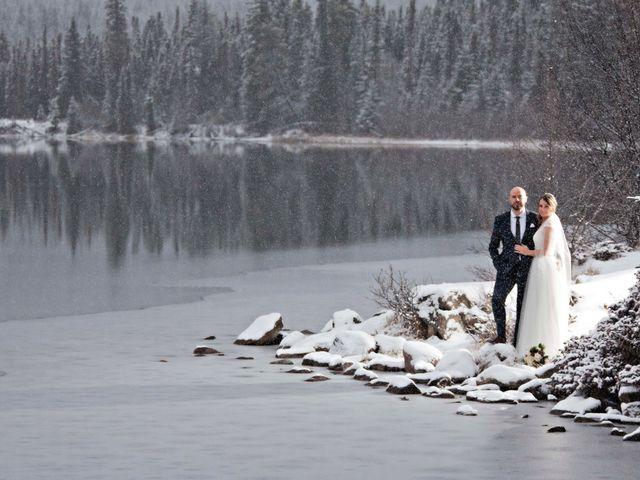 Mike and Chantal's wedding in Jasper, Alberta 9