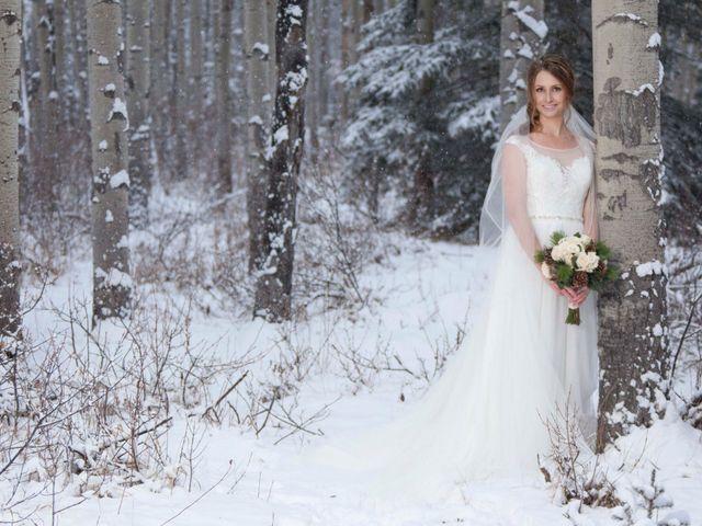 Mike and Chantal's wedding in Jasper, Alberta 12