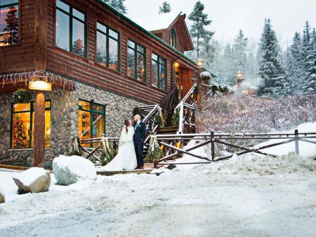 Mike and Chantal's wedding in Jasper, Alberta 1