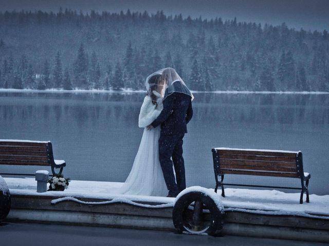 Mike and Chantal's wedding in Jasper, Alberta 13