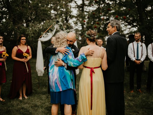 Kevin and Jacquie's wedding in Red Deer County, Alberta 40
