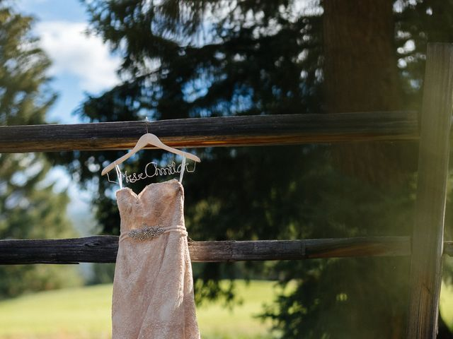 Graeme and Stephanie's wedding in Jasper, Alberta 7