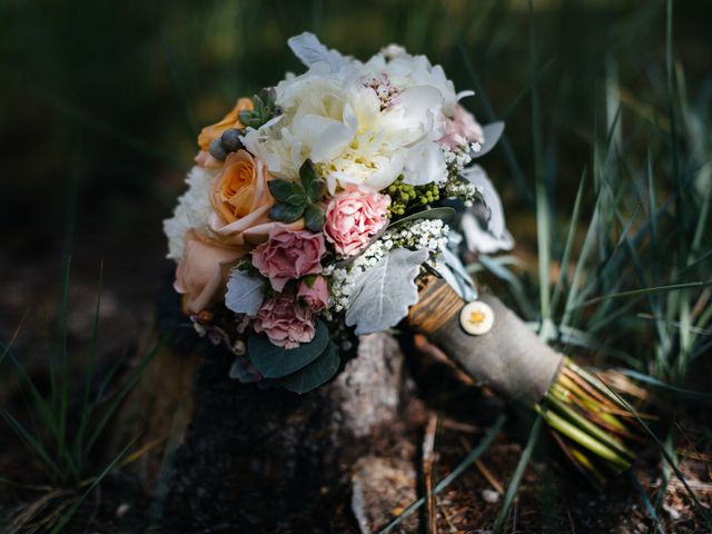 Graeme and Stephanie's wedding in Jasper, Alberta 12