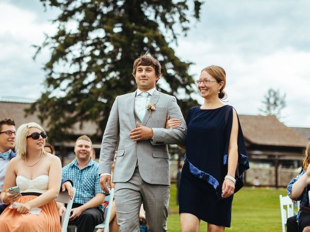 Graeme and Stephanie's wedding in Jasper, Alberta 16