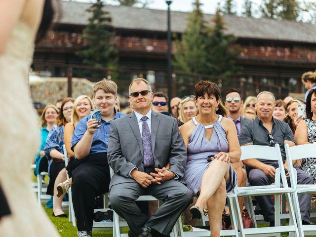 Graeme and Stephanie's wedding in Jasper, Alberta 19