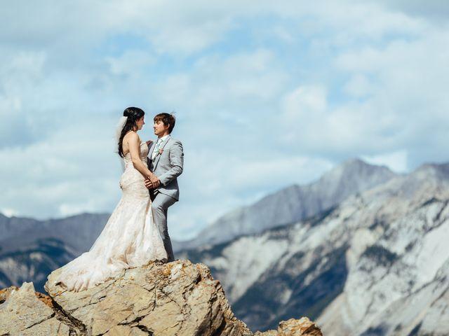 Graeme and Stephanie's wedding in Jasper, Alberta 2