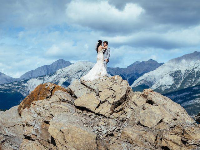Graeme and Stephanie's wedding in Jasper, Alberta 24