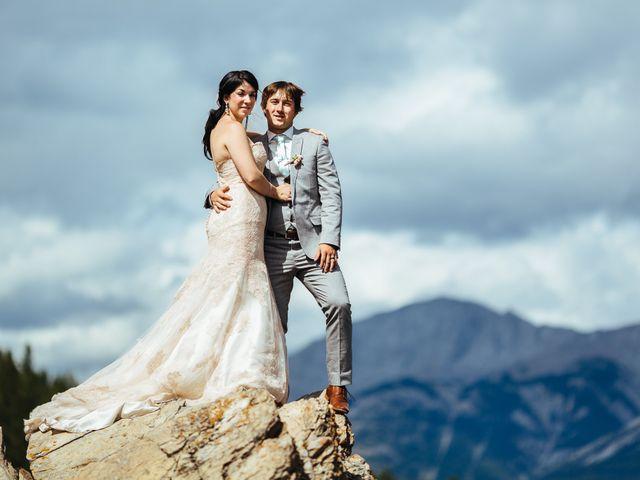 Graeme and Stephanie's wedding in Jasper, Alberta 25