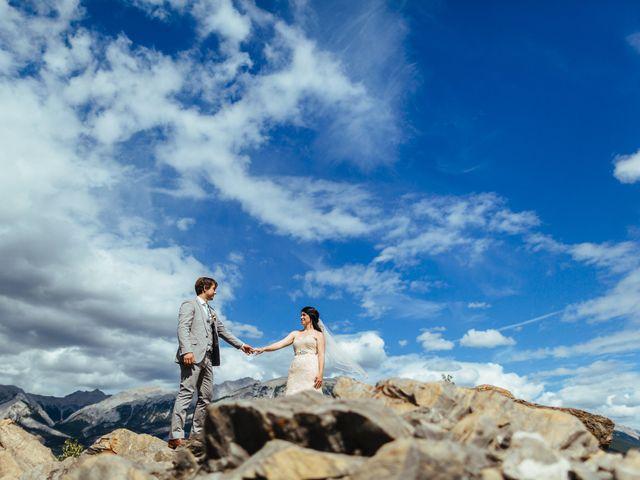 Graeme and Stephanie's wedding in Jasper, Alberta 26