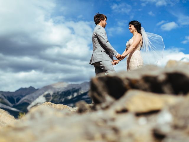 Graeme and Stephanie's wedding in Jasper, Alberta 27