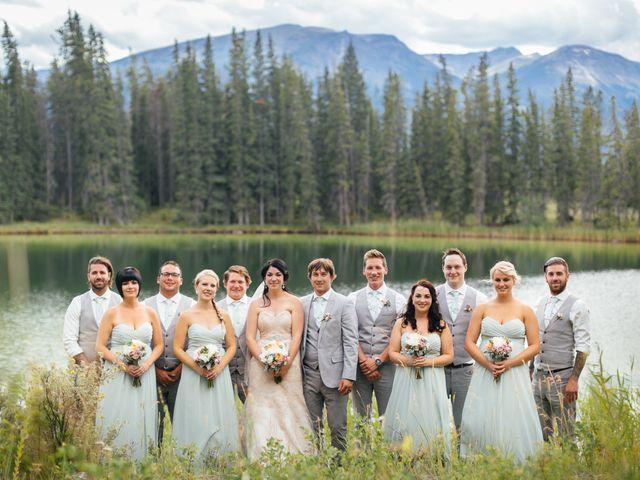 Graeme and Stephanie's wedding in Jasper, Alberta 29