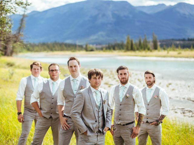 Graeme and Stephanie's wedding in Jasper, Alberta 30