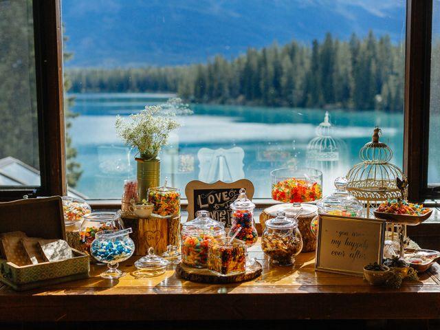 Graeme and Stephanie's wedding in Jasper, Alberta 39