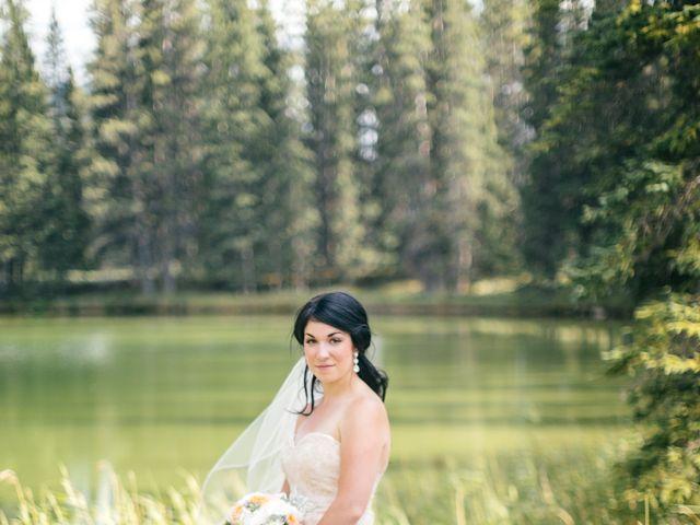 Graeme and Stephanie's wedding in Jasper, Alberta 44