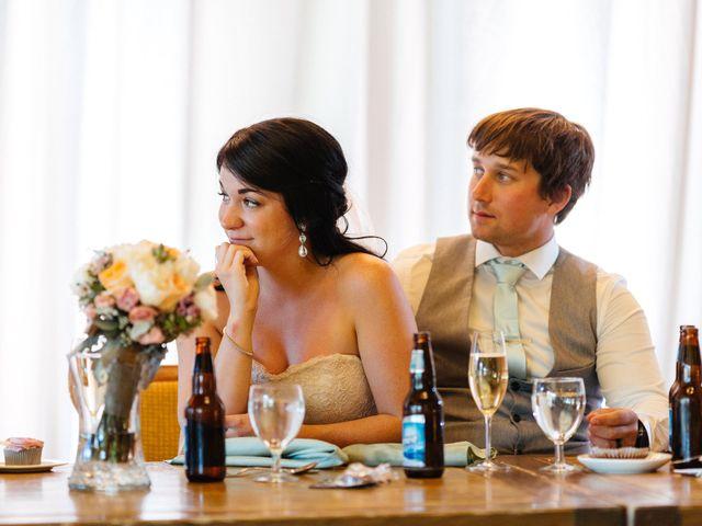 Graeme and Stephanie's wedding in Jasper, Alberta 45