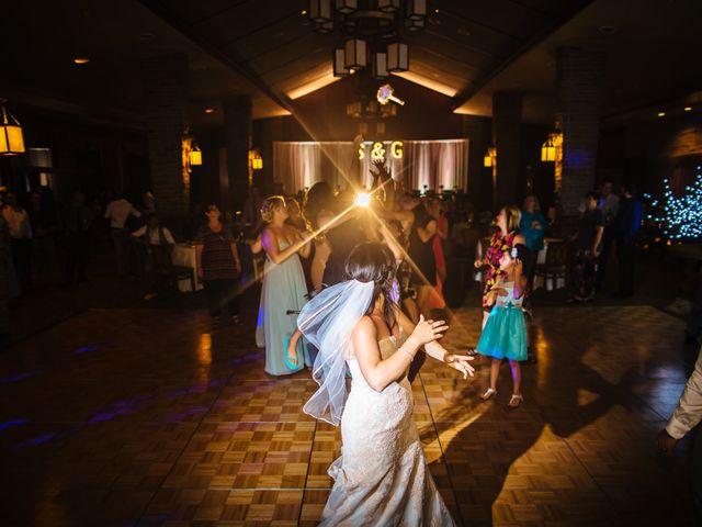 Graeme and Stephanie's wedding in Jasper, Alberta 58