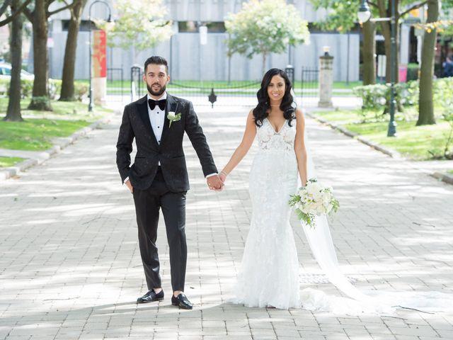 The wedding of Alesya and Alexander