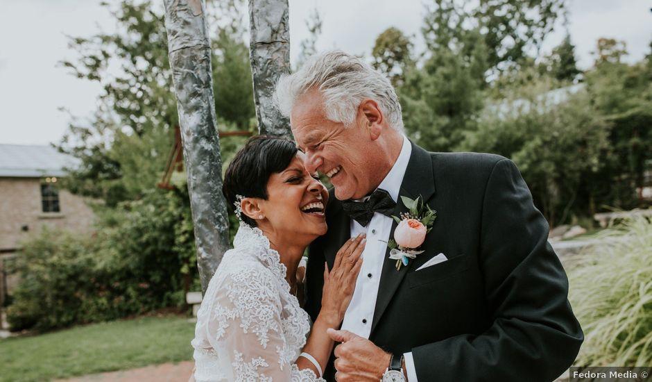 Stefan and Nicole's wedding in Elora, Ontario