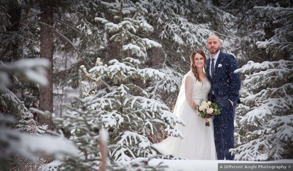 Mike and Chantal's wedding in Jasper, Alberta