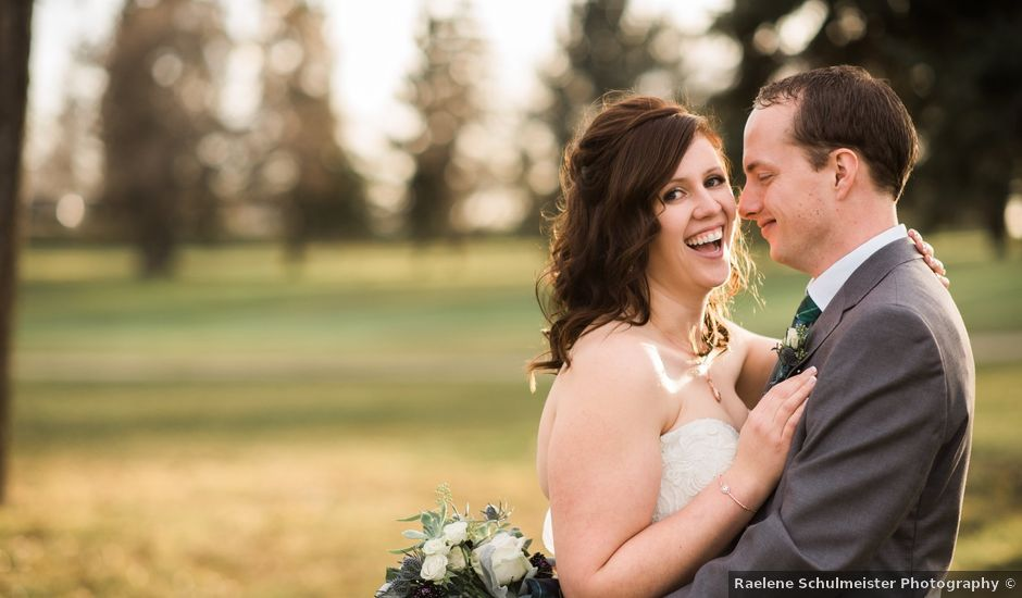 Dean and Emma's wedding in Lacombe, Alberta