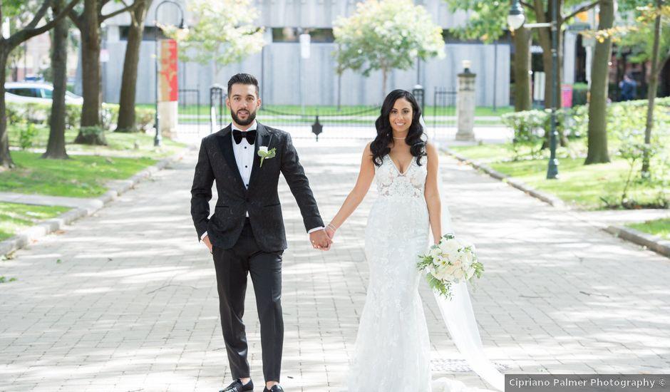 Alexander and Alesya's wedding in Toronto, Ontario