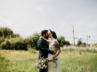 The wedding of Kelly and Jamie