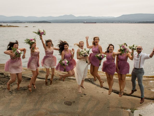 Brody and Ally's wedding in Gabriola, British Columbia 1