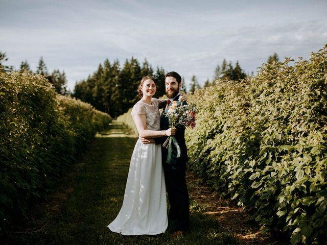 Jamie and Kelly's wedding in Langley, British Columbia 1