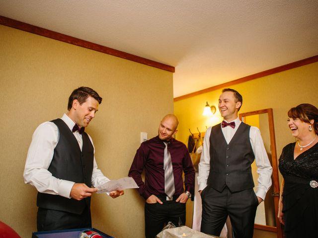 Paul and Krysten's wedding in Jasper, Alberta 9