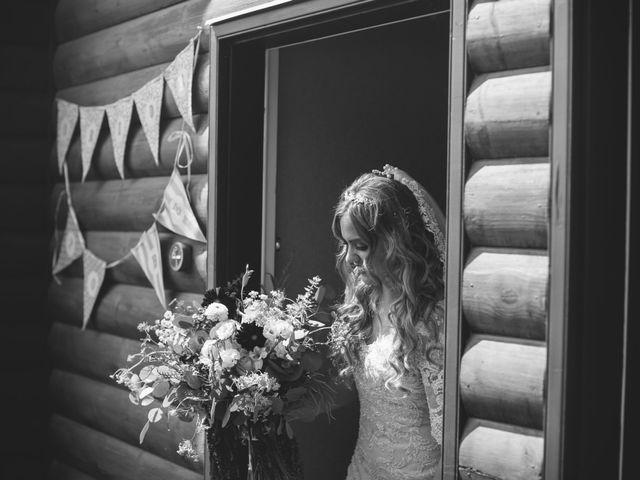 Paul and Krysten's wedding in Jasper, Alberta 11