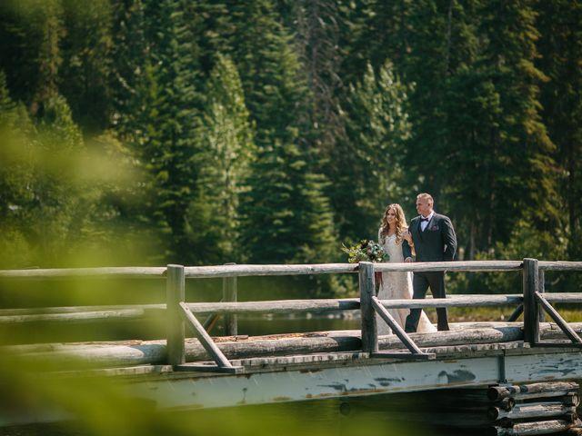 Paul and Krysten's wedding in Jasper, Alberta 14