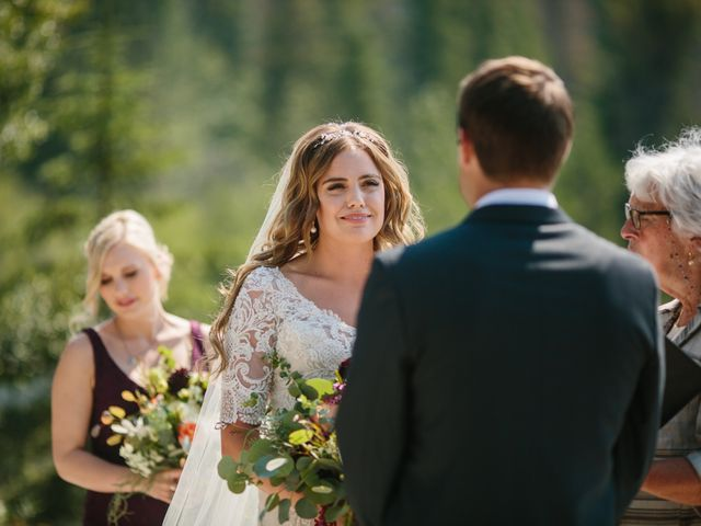 Paul and Krysten's wedding in Jasper, Alberta 15