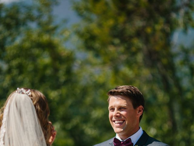 Paul and Krysten's wedding in Jasper, Alberta 17