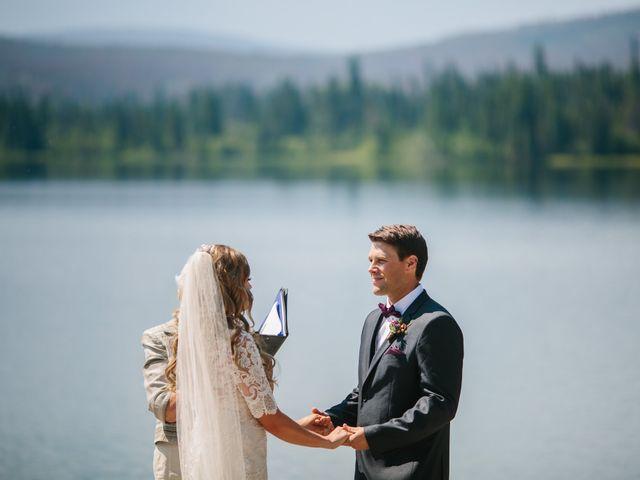 Paul and Krysten's wedding in Jasper, Alberta 18