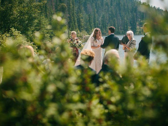 Paul and Krysten's wedding in Jasper, Alberta 19