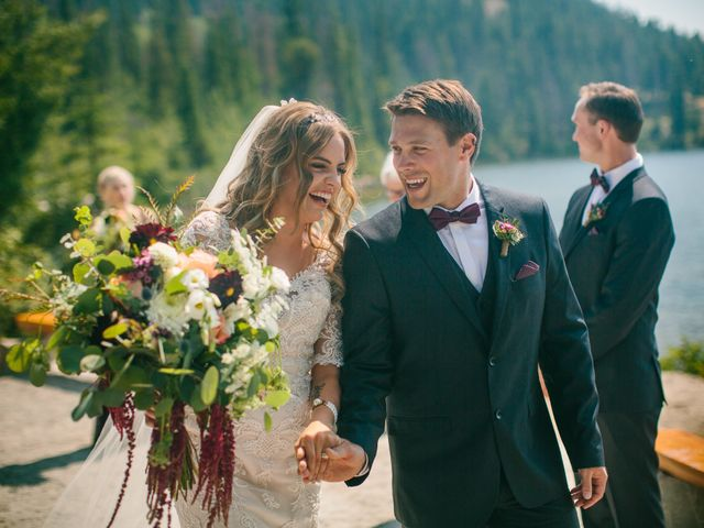 Paul and Krysten's wedding in Jasper, Alberta 20