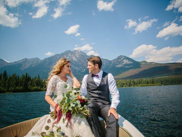 Paul and Krysten's wedding in Jasper, Alberta 21