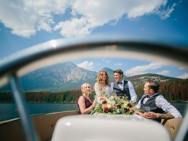 Paul and Krysten's wedding in Jasper, Alberta 22