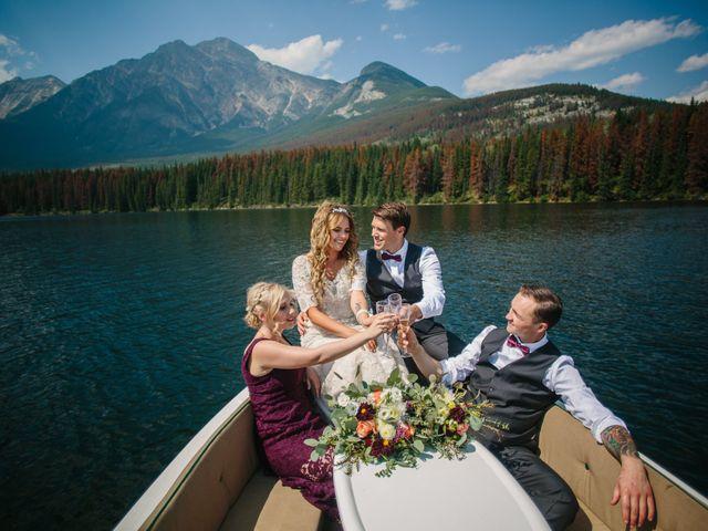 Paul and Krysten's wedding in Jasper, Alberta 23