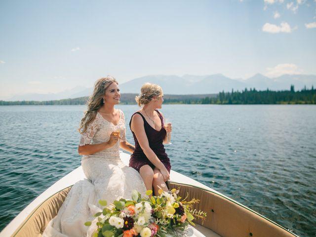 Paul and Krysten's wedding in Jasper, Alberta 25