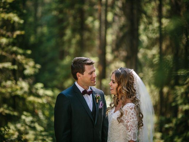 Paul and Krysten's wedding in Jasper, Alberta 27