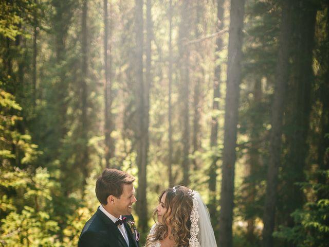 Paul and Krysten's wedding in Jasper, Alberta 28