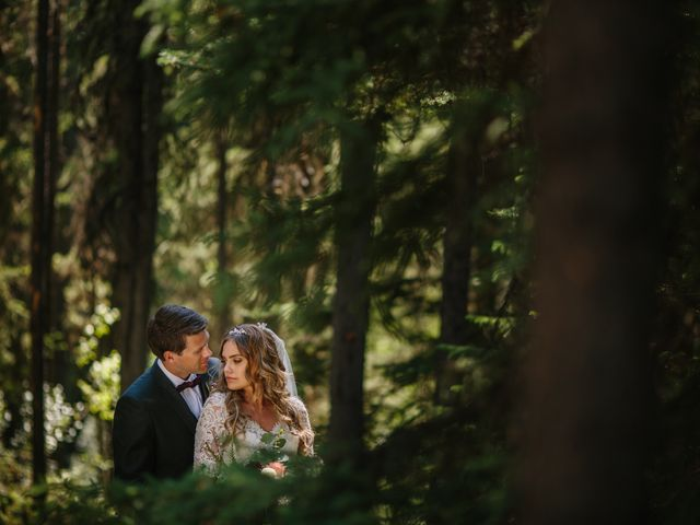 Paul and Krysten's wedding in Jasper, Alberta 29