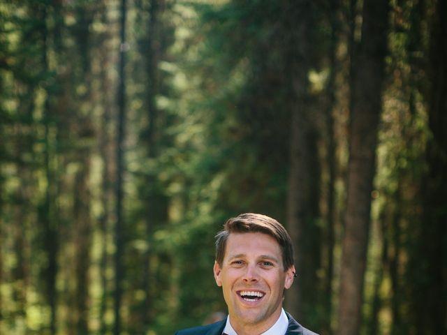 Paul and Krysten's wedding in Jasper, Alberta 33