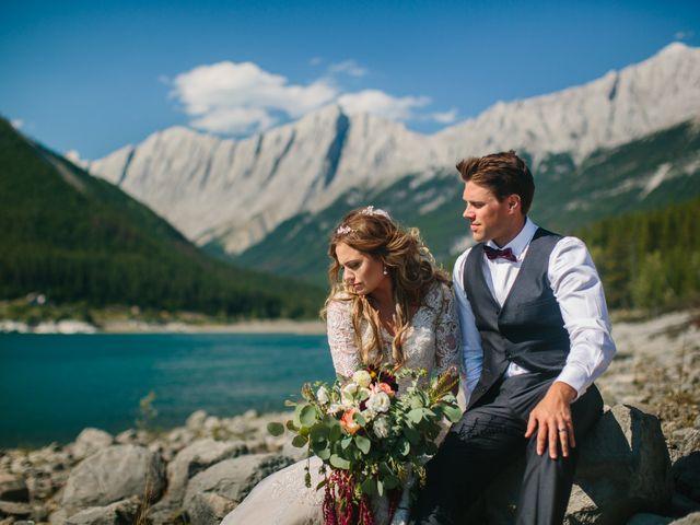 Paul and Krysten's wedding in Jasper, Alberta 35