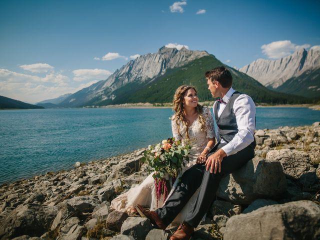 Paul and Krysten's wedding in Jasper, Alberta 36