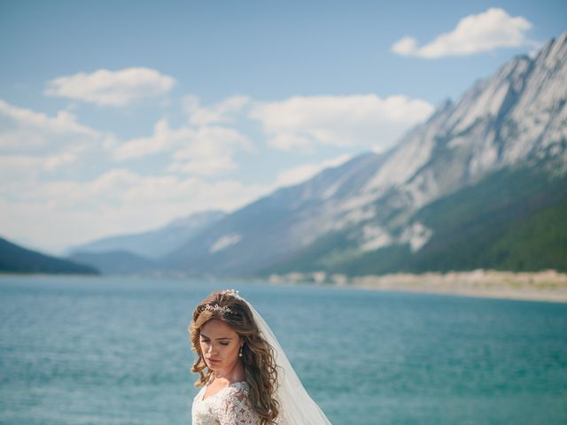Paul and Krysten's wedding in Jasper, Alberta 37
